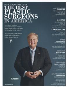 Orange County Top Plastic Surgeon Dan Mills